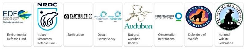 Environmental nonprofits logo via Google April 22 2019