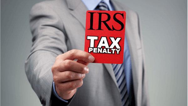 Irs red card tax penalty