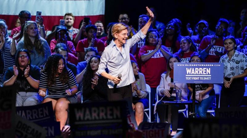 Elizabeth Warren on campaign trail in AZ_Facebook