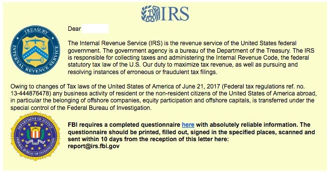 IRS_Questionnaire_SAFE-ransomware-scheme-2017