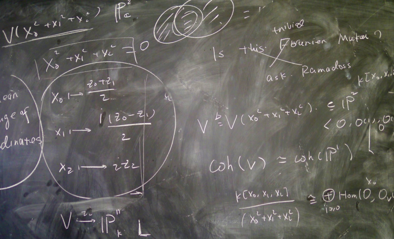 Math equation chalkboard-1_Kim Manley Ort Flickr CC