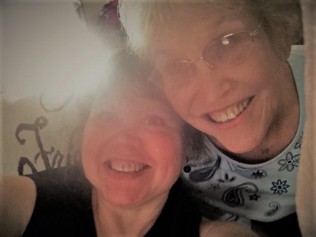 Mum and Me selfie