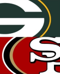 NFC Packers 49ers logo mashup cropped