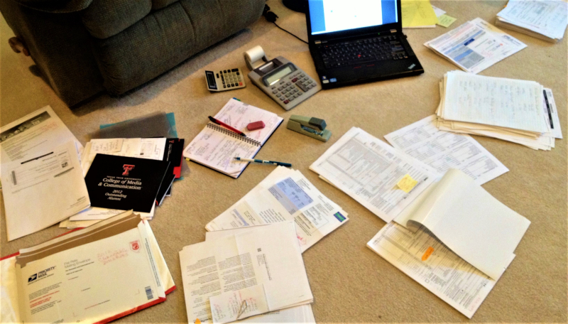 My filing material mess_Kay Bell photo2