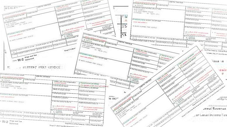 Many 1099 forms