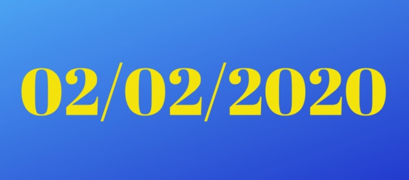 02022020 in blue and yellow