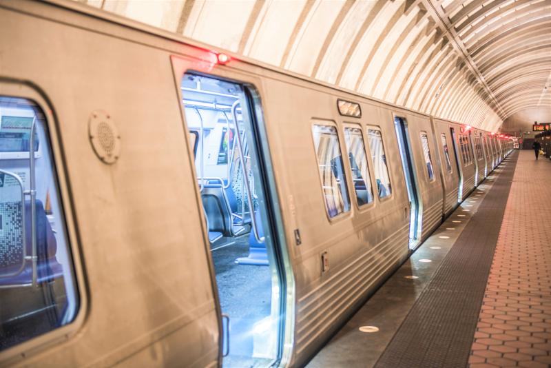 Washington DC subway car_WMATA photo
