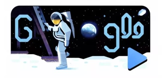 Apollo 11 Google Doodle July 19 2019