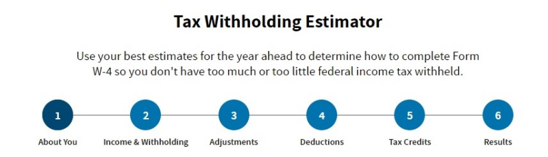 IRS tax withholding estimator replaces withholding calculator August 2019