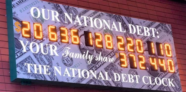 National-debt-clock-digital-display