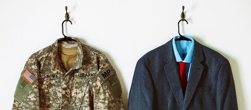 Changing suits_from military service to civilian life_Monster Veterans Talent Index Nov2014