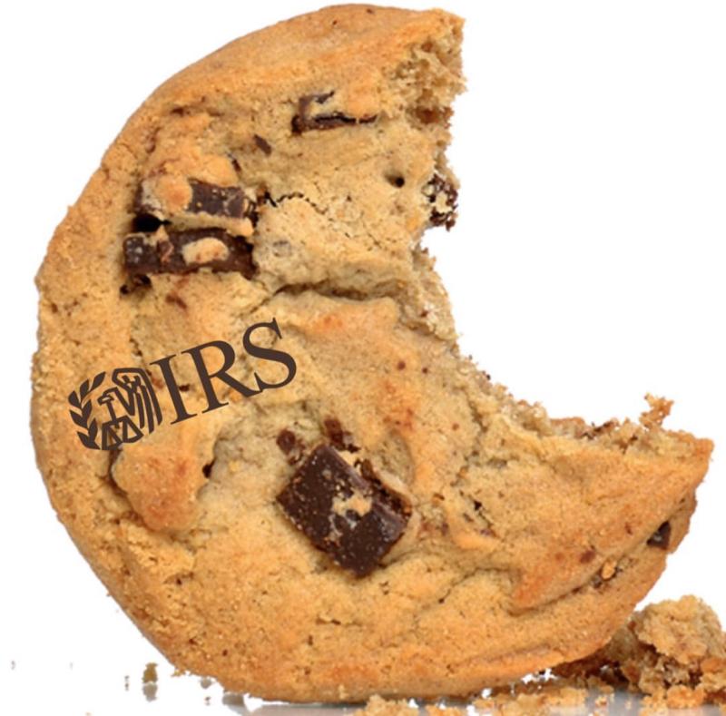 IRS bite cookie