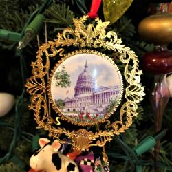 US Capitol ornament_porcelain