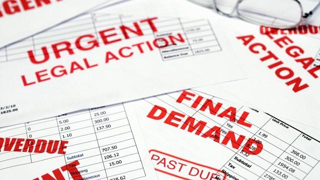 Overdue-unpaid-bills-debts