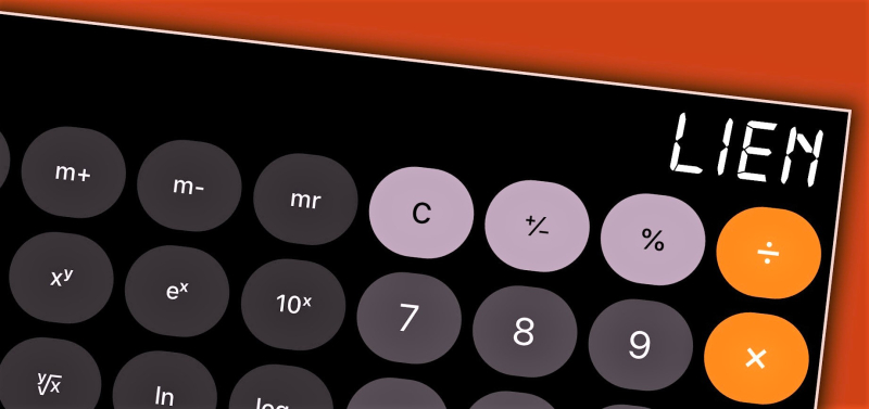 Lien on calculator_Mike Lawrence-CreditDebitPro via Flickr CC