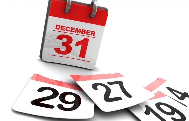 End of calendar year