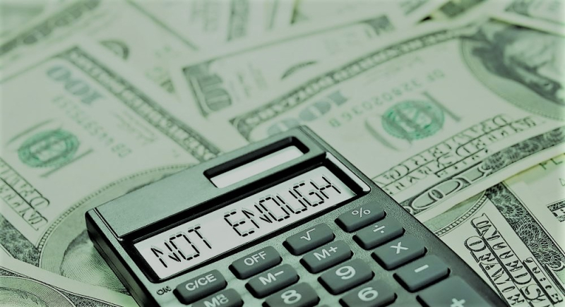 Not enough money calculator cash