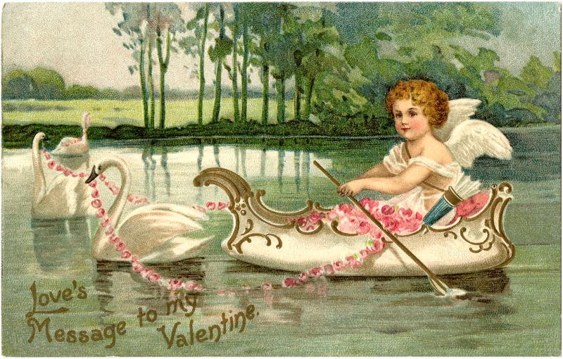 Valentine-Cupid-Swans-GraphicsFairy