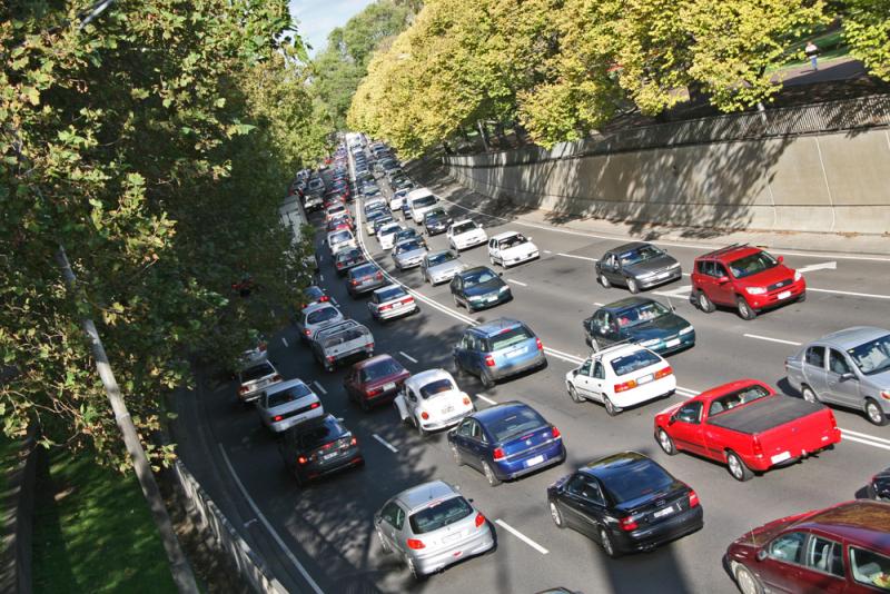Traffic happens by Reinis Traldas via Flickr CC