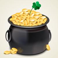Pot of Gold St Patricks Day