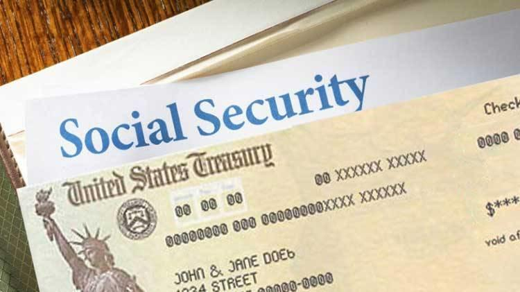 Social security paper check