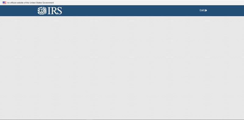 Get My Payment blank screen screenshot