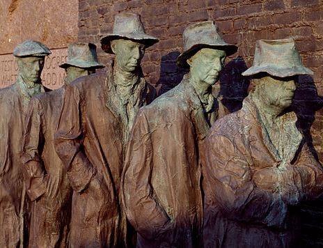 Bread line statue_FDR memorial_cropped