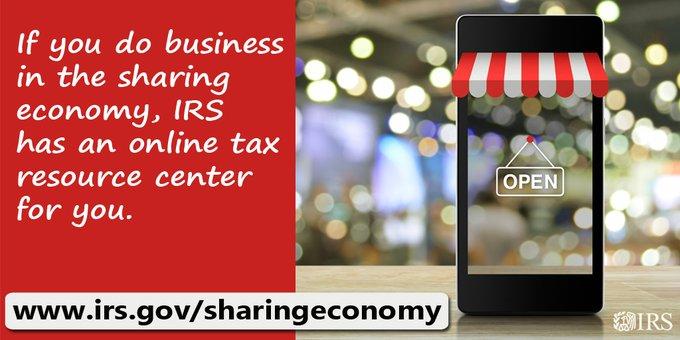 IRS Gig Economy web page