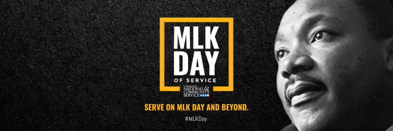 MLK Day of Service banner image