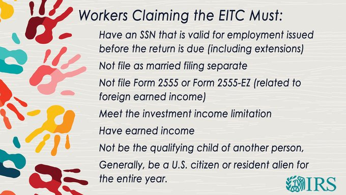 EITC other requirements