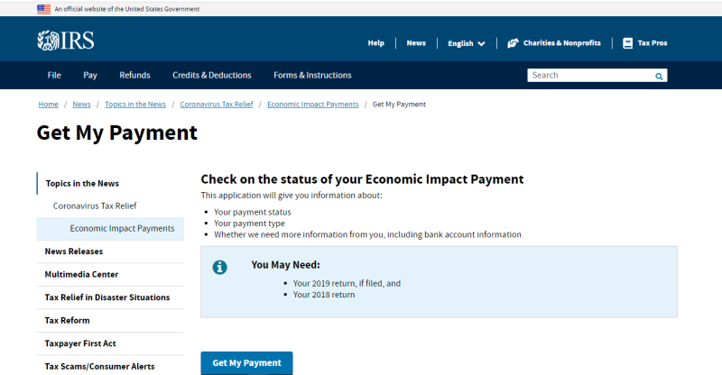 Get My Payment screenshot