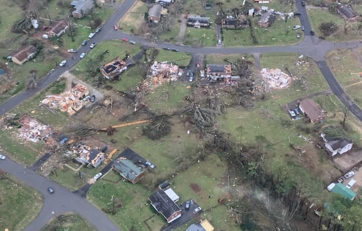 Nashville tornado Nashville Metro PD screenshot1-Twitter-cropped