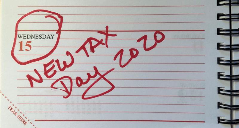 July 15 2020 Tax Day