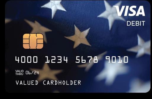 Treasury federal debit card