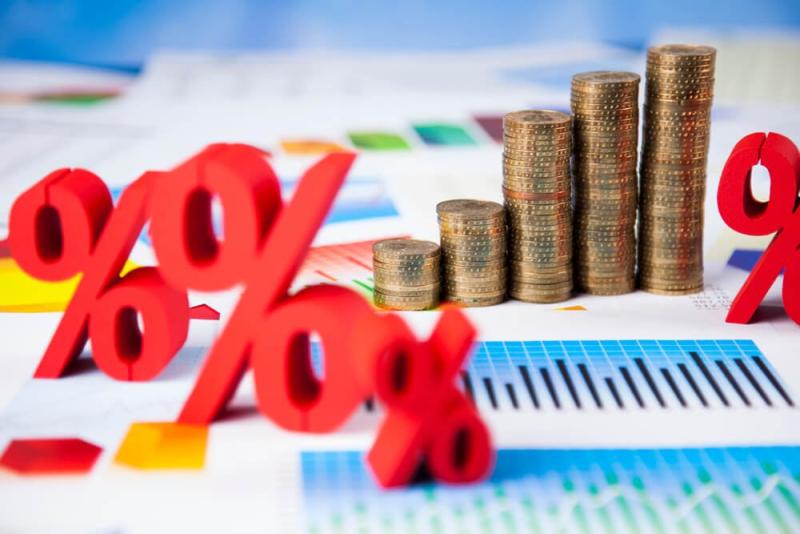 Interest-rates-percentage-symbols