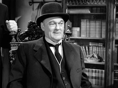 Lionel Barrymore como Sr. Potter - Sua Vida Maravilhosa_Wikimedia Commons