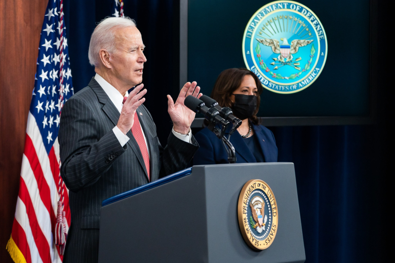 President Joe Biden with VP Kamala Harris_White House photo