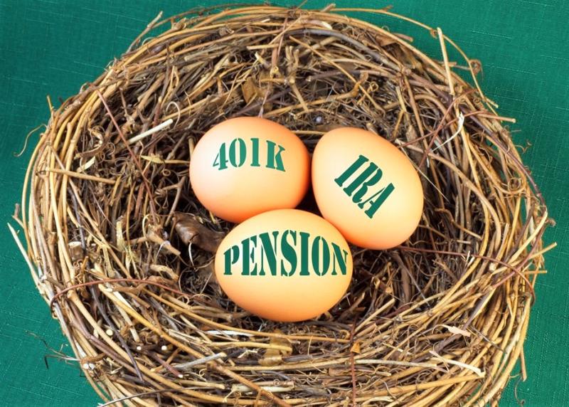 Nest egg retirement components