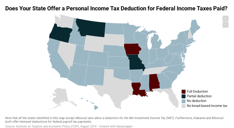 States-that-offer-personal-income-tax-deduction-for-federal-income-taxes-paid-ITEP-1