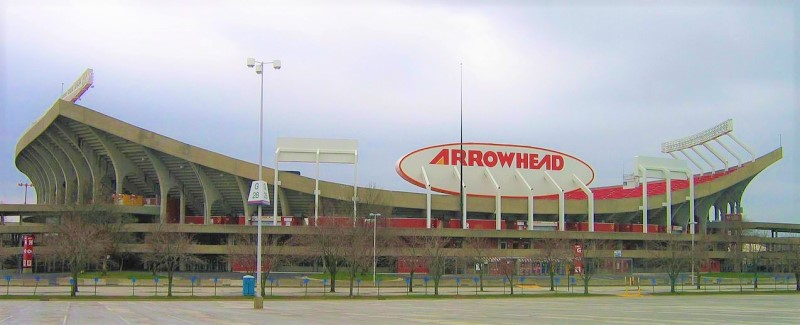 Arrownhead Stadium Kansas City Chiefs home field Wikipedia Commons