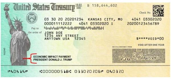 A carta de estímulo da Casa Branca é um documento fiscal do IRS que você precisa salvar