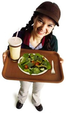 Young food service worker1