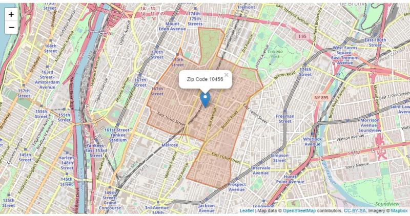 NYC 10456 Bronx ZIP Code_MapsZipCode