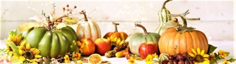 Fall pumpkins gourds
