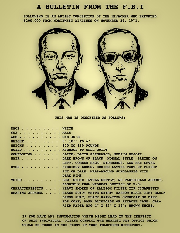 D-B-Cooper-FBI-Wanted-Poster