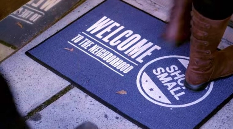 Small-Business-Saturday-store-welcome-mat