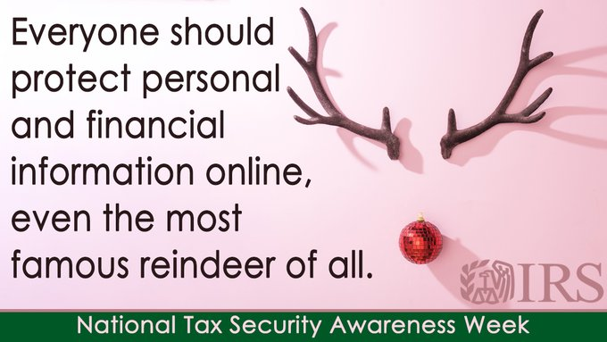 IRS-security-summit-holiday-online-safety-tips-rudolph