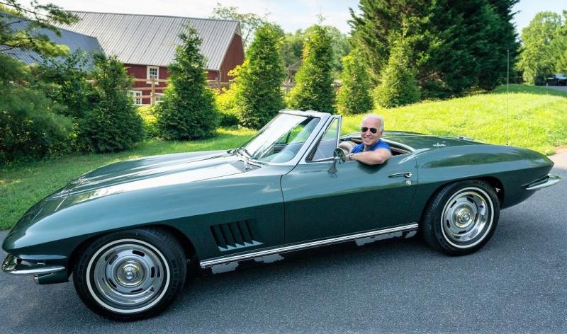 Joe Biden in his 1967 Corvette Stringray_Adam Schultz via Flickr-resized