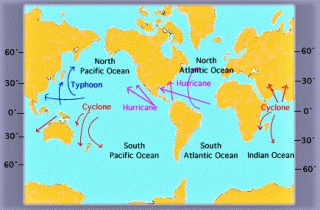 Naming conventions for global ocean storms