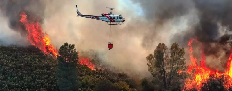 Firefighting from the air_Cal-Fire